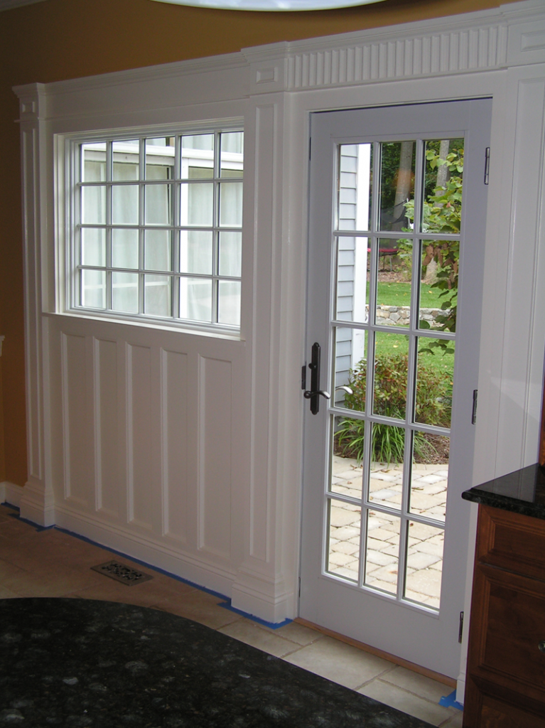 Integrated Door and Window Trim